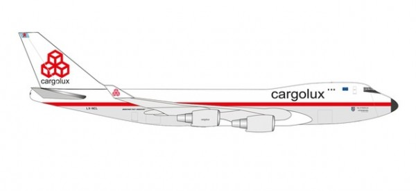 Boeing 747-400F Cargolux