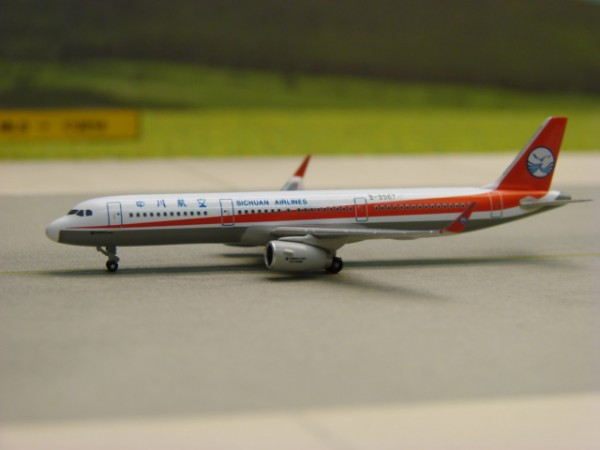 Airbus A321 Sichuan Airlines