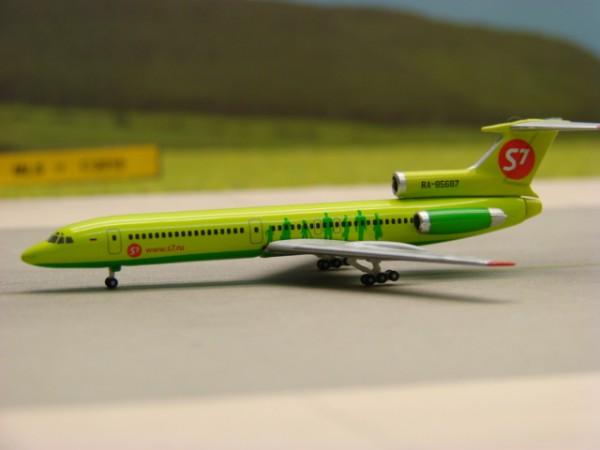 Tupolev TU-154M S7 Siberia Airlines