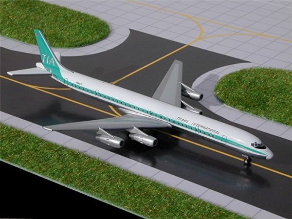 Douglas DC-8-61F Trans International Airlines