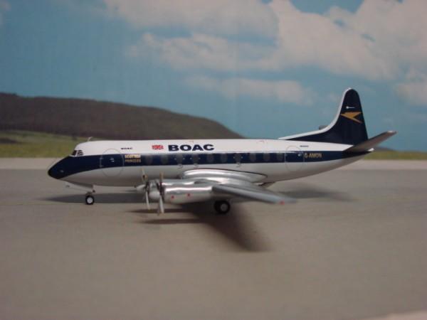 Vickers Viscount VC-700 BOAC