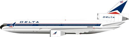McDonnell Douglas DC-10-30 Delta Air Lines
