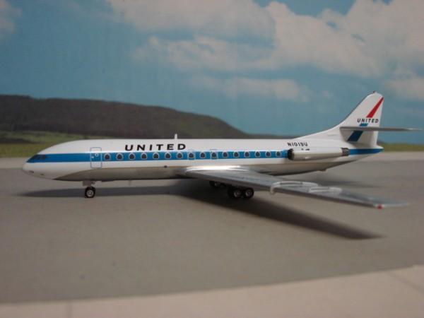 Sud Aviation SE-210 Caravelle III United Airlines