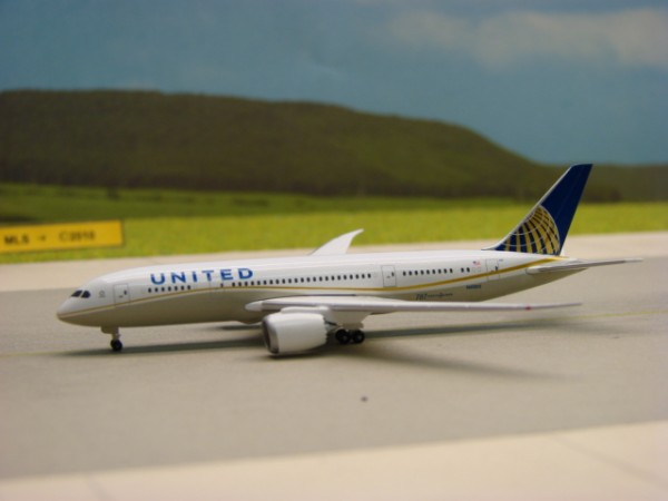 Boeing 787-8 United Airlines