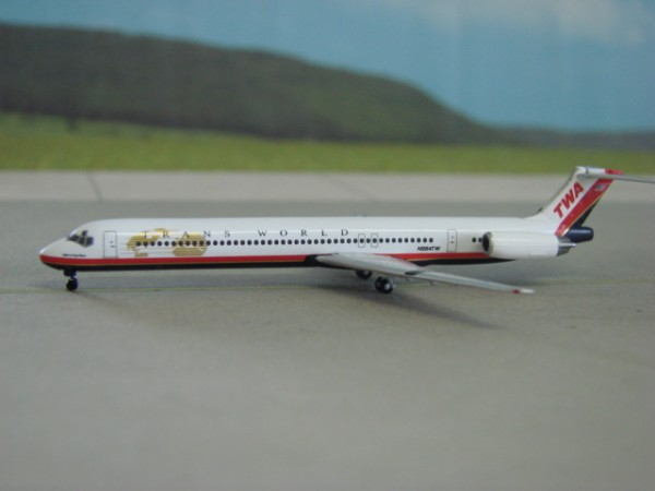 McDonnell Douglas MD-83 TWA Trans World Airways