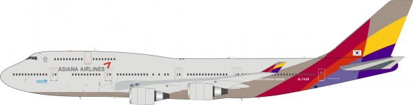 Boeing 747-400 Asiana Airlines
