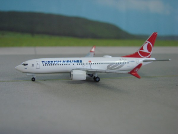 Boeing 737 MAX 8 Turkish Airlines
