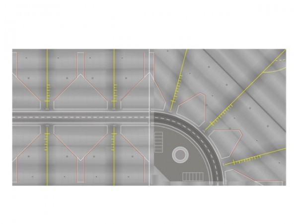 Scenix - Vorfeld / Tower-Platten