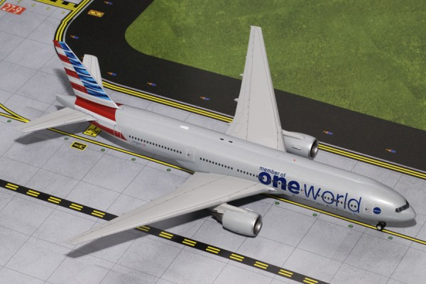 """Boeing 777-200ER American Airlines """"oneworld"""""""
