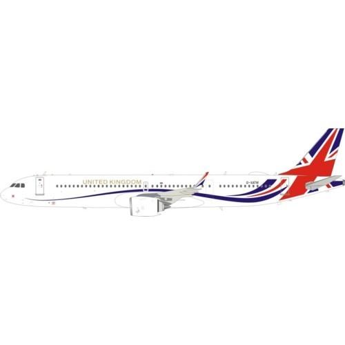 Airbus A321neo Titan Airways