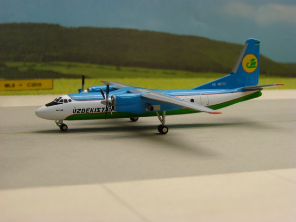 Antonov AN-24B Uzbekistan Airways