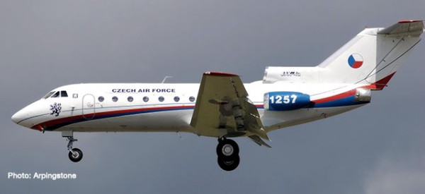 Yakolev Yak-40 Czech Air Force