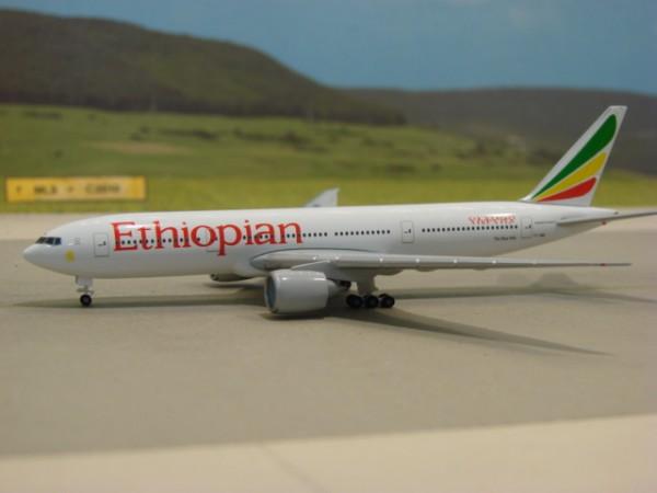 Boeing 777-200LR Ethiopian Airlines