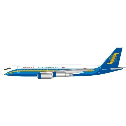 Convair CV-990 Ports of Call Denver