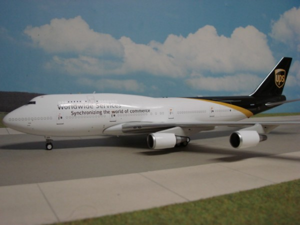 Boeing 747-400F UPS United Parcel Service