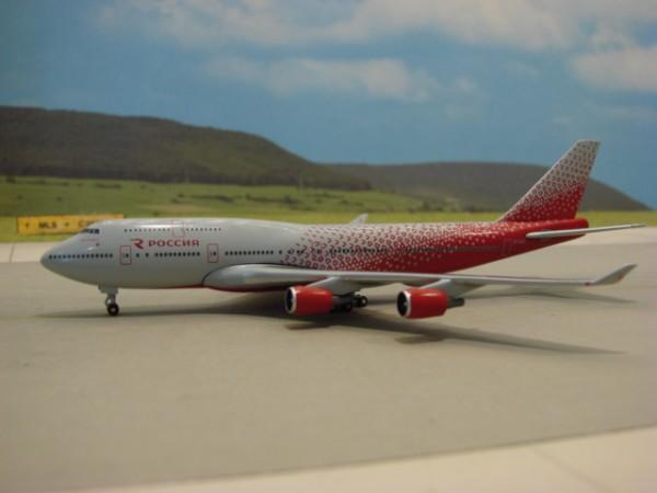 Boeing 747-400 Rossiya
