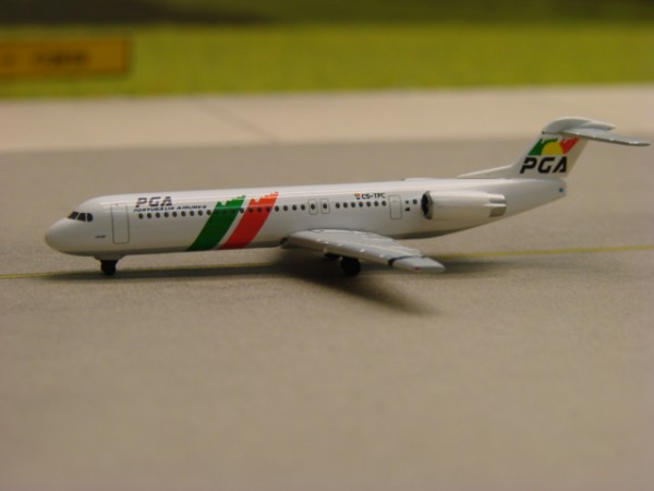 Fokker 100 PGA - Portugalia Airlines