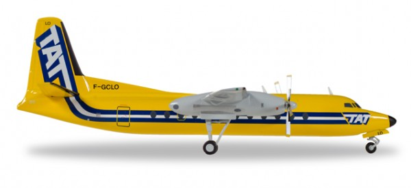 Fairchild-Hiller FH-227 TAT Touraine Air Transport