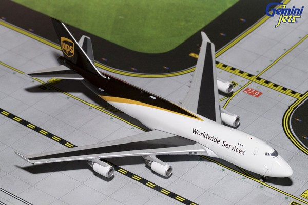 Boeing 747-400F United Parcel Service