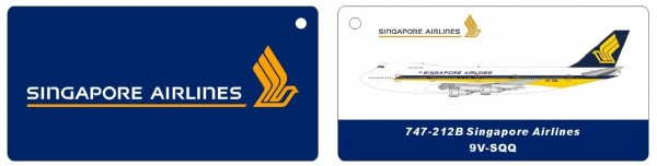 Boeing 747-200 Singapore Airlines