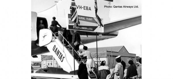 Scenix - Historische Passagiertreppen mit Schlepper