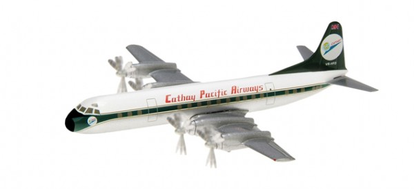 Lockheed L-188A Electra Cathay Pacific