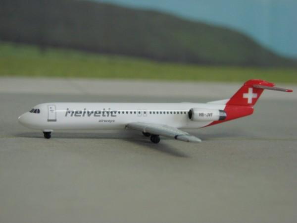 Fokker 100 Helvetic
