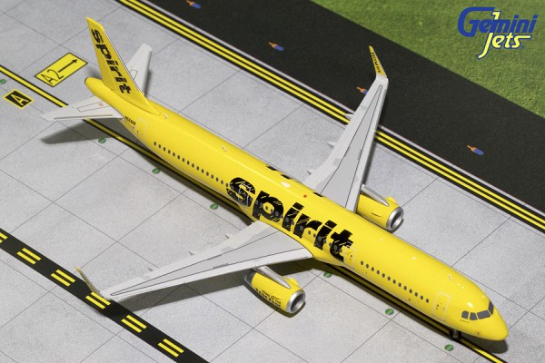 Airbus A321S Spirit Airlines