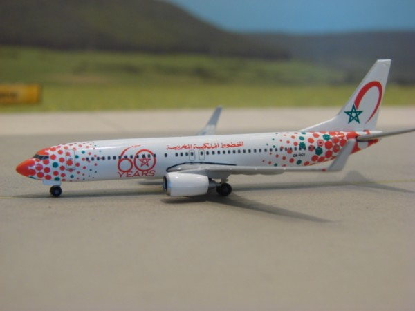Boeing 737-800WL Royal Air Maroc