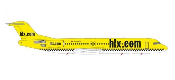Fokker 100 HLX Hapag-Lloyd Express