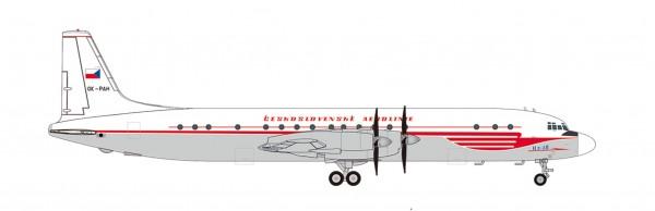 Ilyushin IL-18 CSA Czechoslovak Airlines