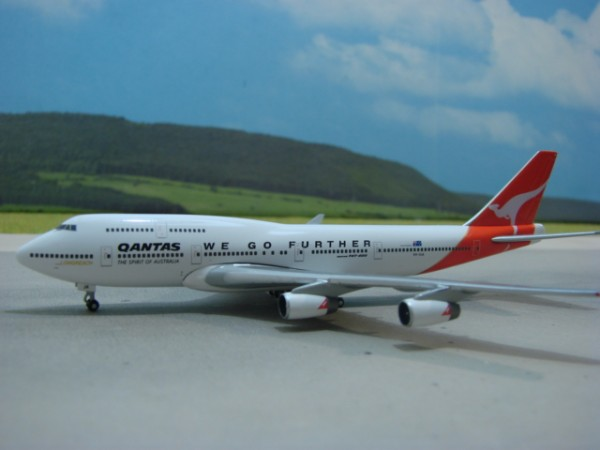 Boeing 747-400 Qantas Airways