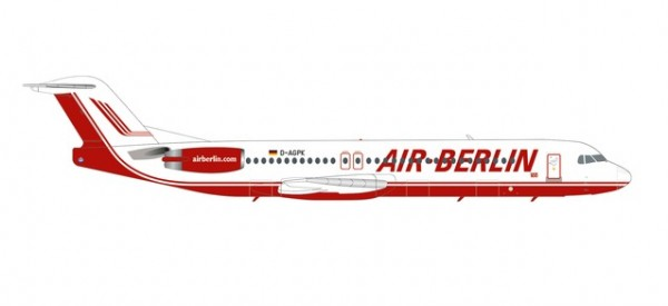 Fokker 100 Air Berlin