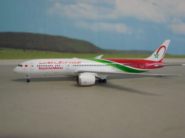 Herpa Wings 1:500 533652 Boeing 787-9 Royal Air Maroc
