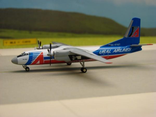Antonov AN-24B Ural Airlines