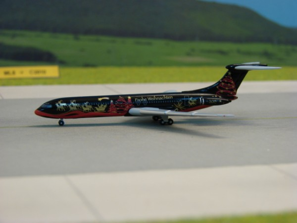 BAC Super VC10 Weihnachtsmodell