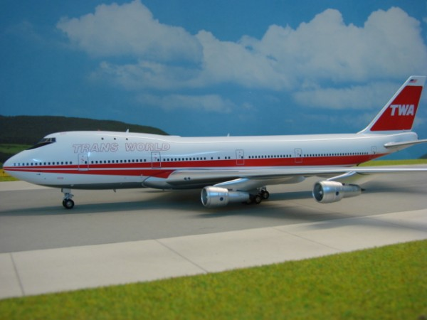 Boeing 747-100 TWA - Trans World Airlines