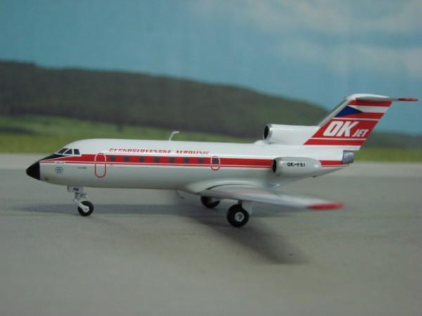 Yakovlev Yak-40 CSA Ceskoslovenske Airlines