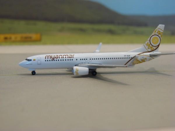 Boeing 737-800 Myanmar Airways