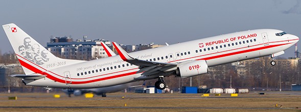 Boeing 737-800 Poland Air Force
