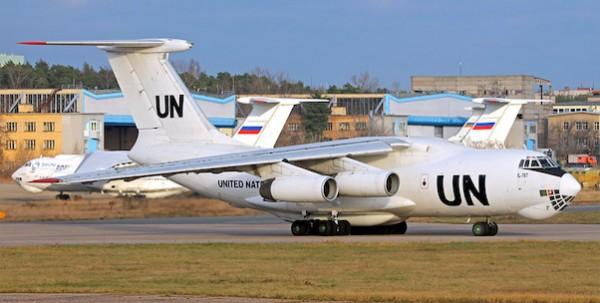 Ilyushin IL-76T United Nations