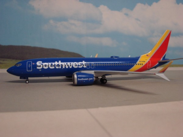 Boeing 737 MAX 8 Southwest Airlines