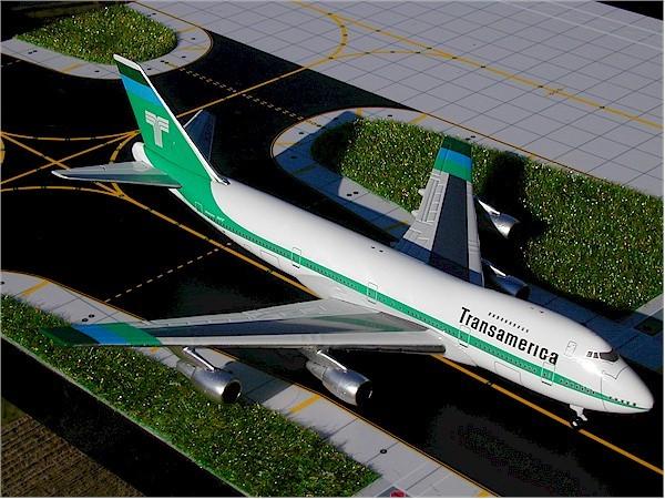 Boeing 747-200 Transamerica Airlines
