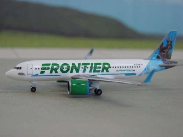 Airbus A320neo Frontier Airlines