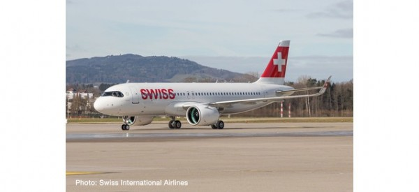 Airbus A320neo Swiss International Air Lines