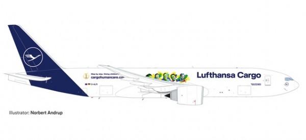Boeing 777F Lufthansa Cargo