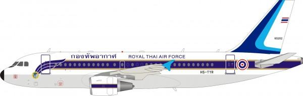 Airbus A319 Thailand Air Force