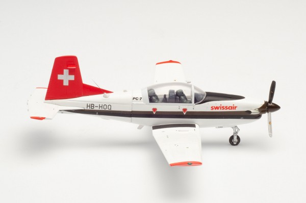 Pilatus PC-7 Turbo Trainer Swissair