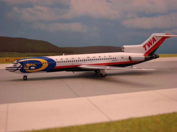 Boeing 727-200 TWA Trans World Airlines