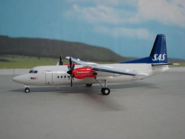 Fokker 50 SAS Scandinavian Airlines
